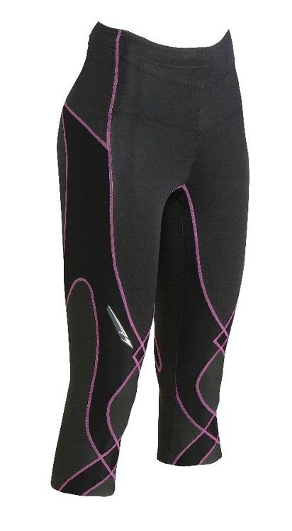 CW-X Women's 3/4 Length Insulator Stabilyx Tight - On or off the slopes, these are great tights!  Wear them for skiing, running, hiking, snow shoeing, cross country skiing...you name it.  Wear them alone or under something.  Nice and warm, no bulky bottom to go in your ski boots and awesome support for your low back, tummy, IT band, quads and knees.  They reduce muscle fatigue too!  I just can't say enough good things about these!