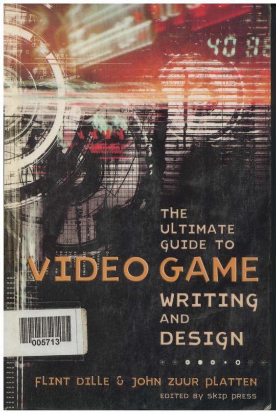 """""""La guía definitiva para Videojuego de Escritura y Diseño va mucho más allá de lo básico. Los autores son los mejores diseñadores de juegos y están centrados en la creación de experiencias emocionalmente diferentes para el jugador. #Pontealeer #Ellibrodehoy en #BibliotecaCAAV"""