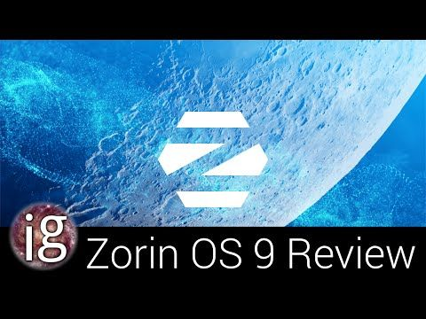 ▶ Zorin OS 9 Review - Linux Distro Reviews - YouTube