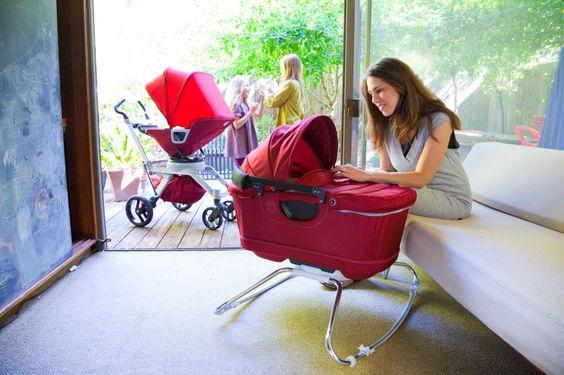 We love how sleek and functional the @Orbit Baby Stroller G2 + Bassinet Cradle G2 are! #babygear