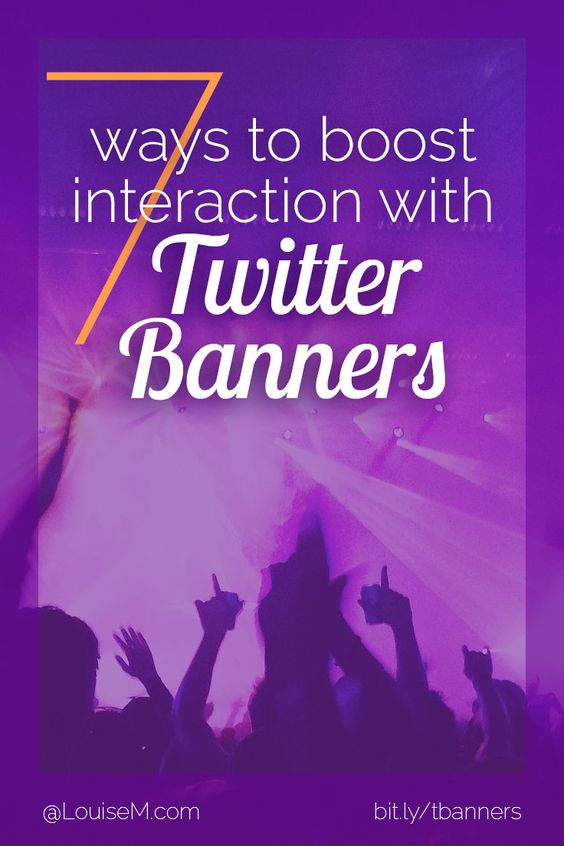 Want to improve your Twitter banners? Click through to blog to leverage this valuable first impression 7 ways!