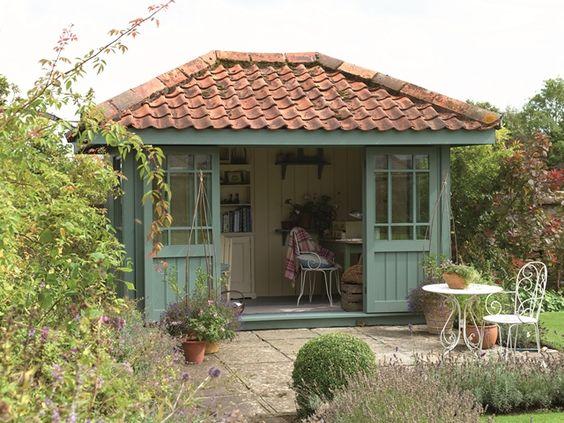 Gardens house and summer on pinterest for Summer house blinds