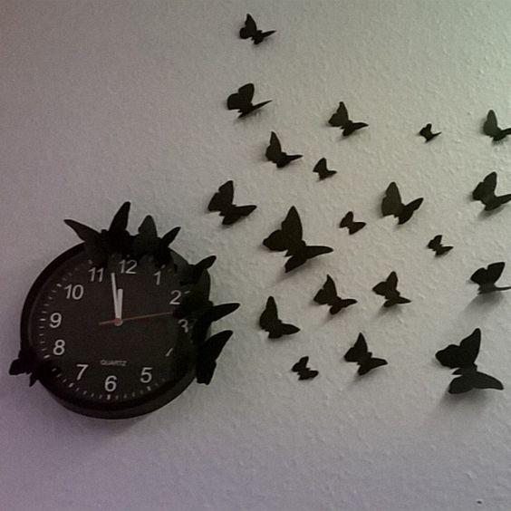 Uhr selbst aufgepeppt  #diy #ausaltmachneu #doityourself #obstschale #misatu #misatudesign