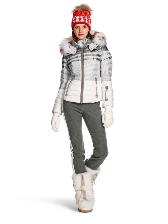 Down Ski Jacket Tea-D @ bogner.com: