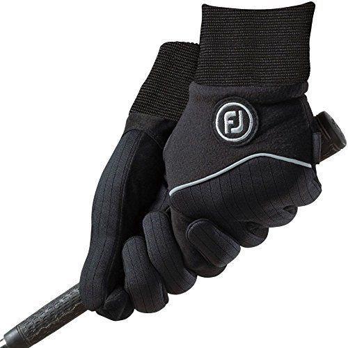 Footjoy Wintersof Golf Gloves 1 Pair Black L Golf Gloves Ladies Golf Ladies Golf Clothes
