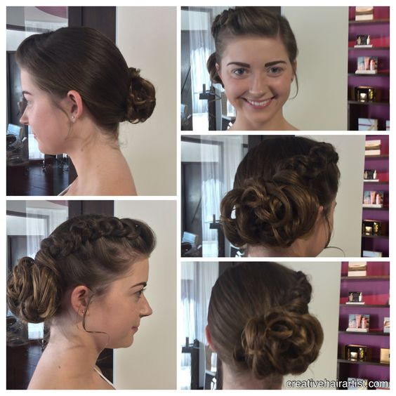 My gorgeous client is #Homecoming ready!!! #Updo #creativehairartist #beautybydarlene
