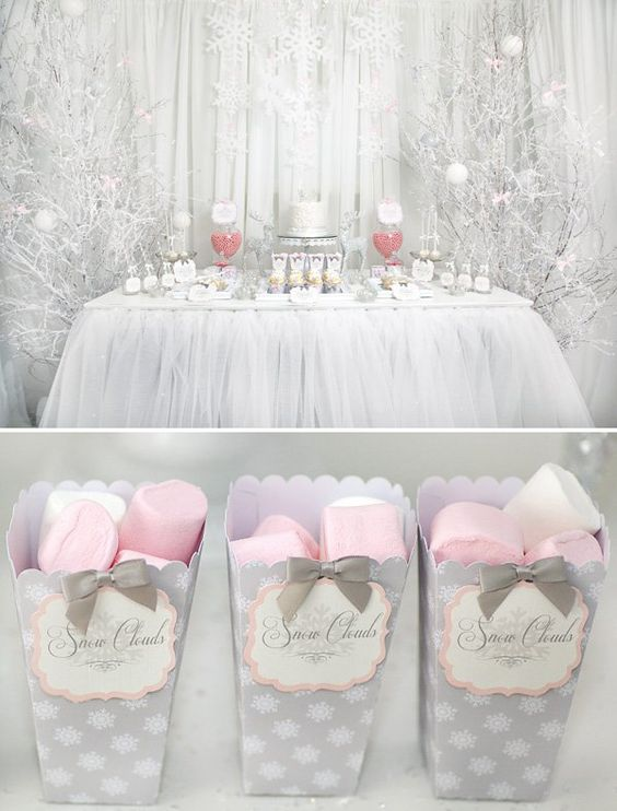 showers baby showers winter babies snowflakes winter baby showers pink