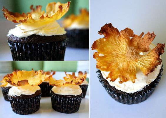 Little Things Bring Smiles- This is pretty and fall looking- it's actually pineapple, believe it or not!