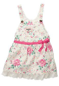 OshKosh B'gosh® Floral Print Jumper Dress