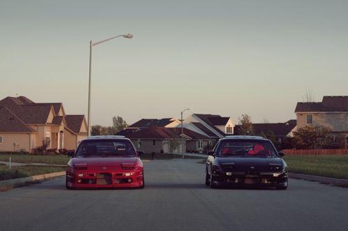 Nissan S13 pair. (180SX, 200SX, 240SX)
