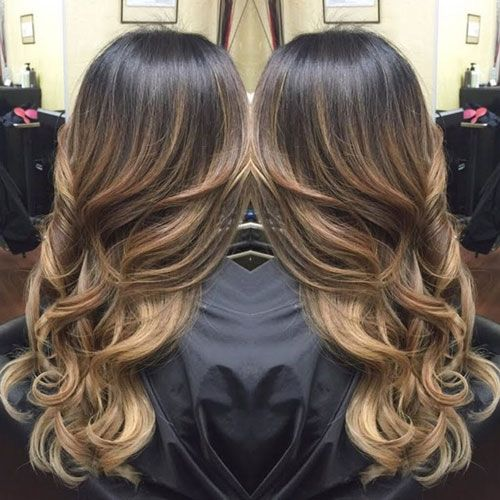 Top Balayage For Dark Hair Black And Dark Brown Hair Balayage Color 2020 Guide Balayage Hair Hair Styles Hair
