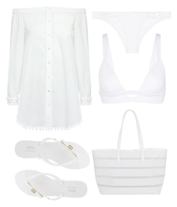 """""""Untitled #179"""" by dutchfashionlover ❤ liked on Polyvore featuring Vitamin A, 10 Crosby Derek Lam, Melissa and BUCO"""