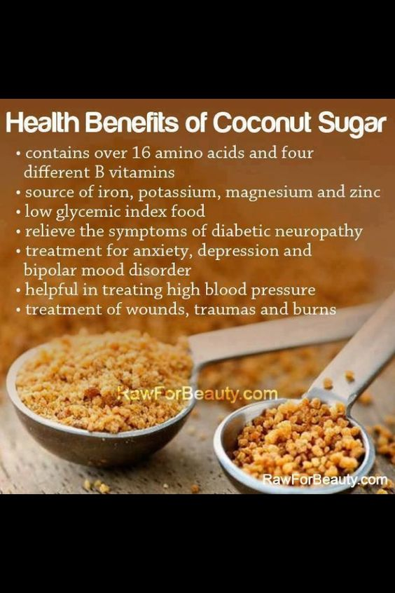 Gotta look up coconut sugar