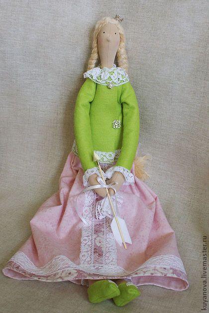 Царевна Л. Утро. - тильда,кукла Тильда,текстильная кукла,царевна лягушка ♡