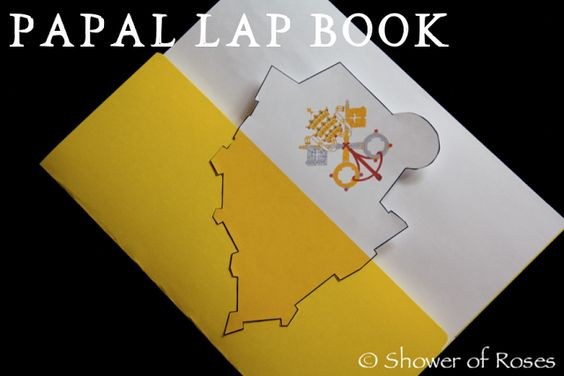 Shower of Roses: The Primacy of Peter :: A Papal Unit Study & Lap Book
