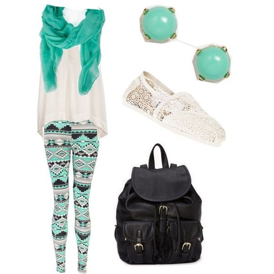 Back to School Outfit 8th Grade! by fashionistajazzy on Polyvore featuring polyvore fashion ...