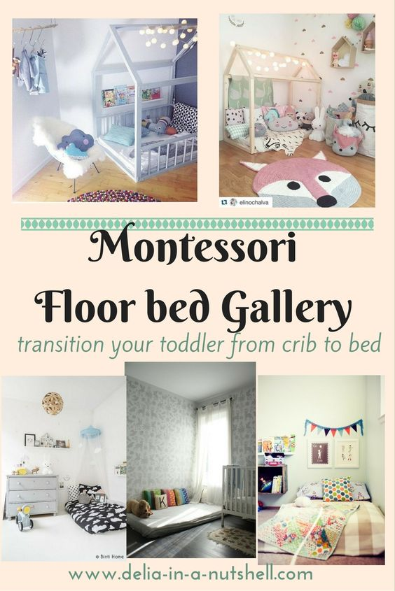 montessori floor bed inspiration roundup best and most efficient way to transition from crib to bed with no fuss floor bed montessori method u2026