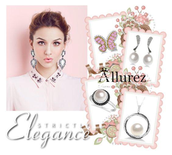 """Allurez 6"" by hetkateta ❤ liked on Polyvore featuring Allurez"