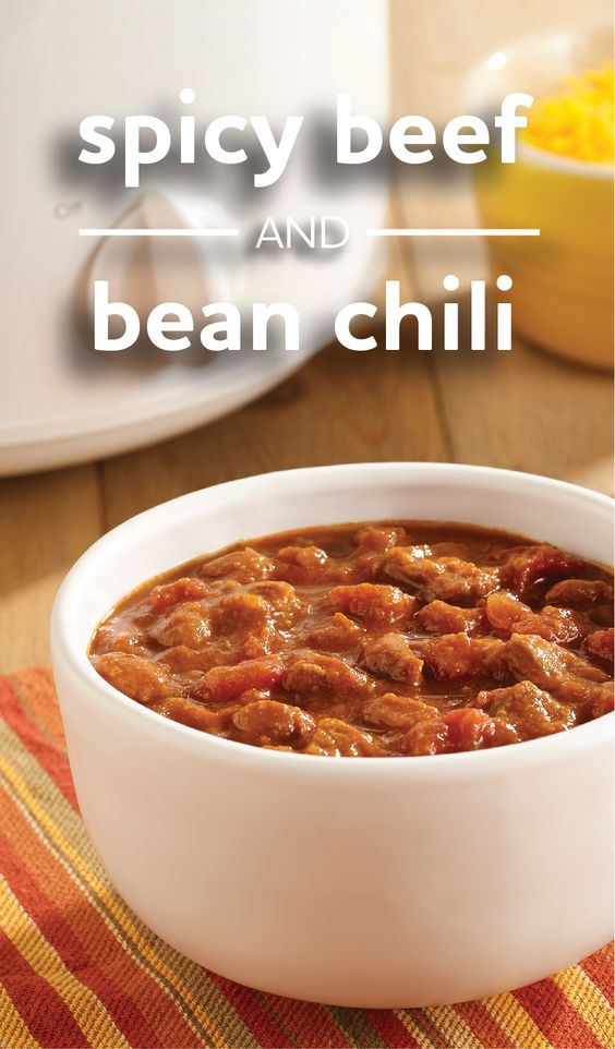 Chili, Beans and Recipes for on Pinterest