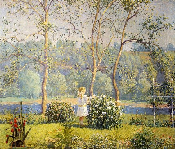 "Daniel Garber (American, 1880 - 1958) ""May Day"""