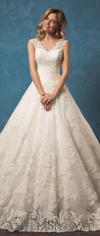 Amelia sposa wedding dresses 2017 collection amelia for Wedding dress cleavage