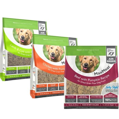 Grain Free Maxmeat Air Dried Real Meat Dog Food Beef 7 5 Lb