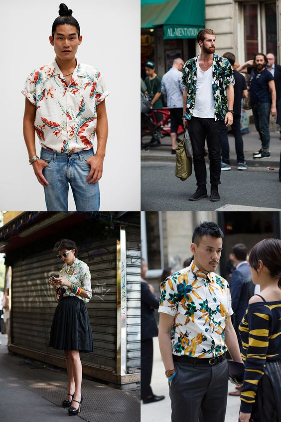 If You're Thinking About….Hawaiian Shirts (yes, yes I am actually) thanks to « The Sartorialist