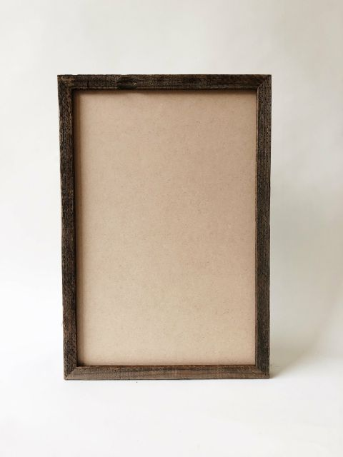 Reclaimed Redwood Handmade Gallery Picture Frame 11x14 Picture
