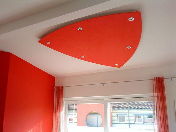 Stunning Deckensegel LisegoDiamond abgeh ngte Decke Deckenlichtsegel LED Spots indirekte Beleuchtung Alternative zur Spanndecke Wohnzimmerdeckenlicht u