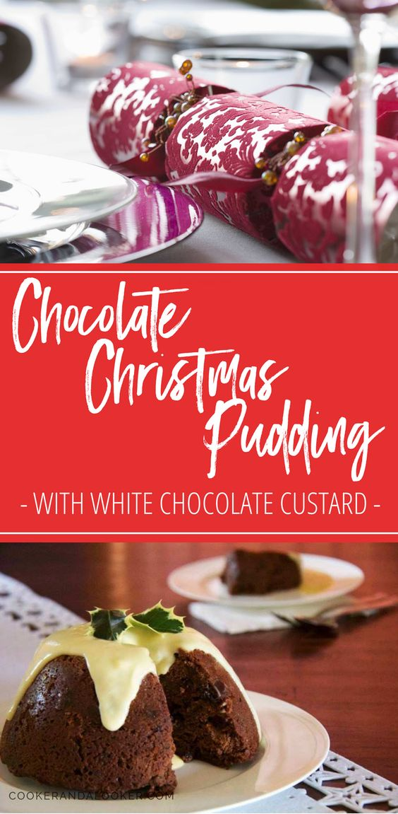 All the goodness of Christmas pudding with added CHOCOLATE!