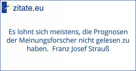 Zitat von Franz Josef Strauß