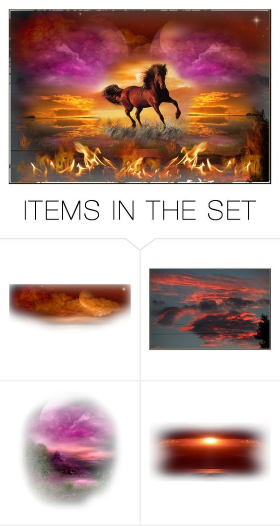 """""""Fire On The Range"""" by sjlew ❤ liked on Polyvore featuring art"""