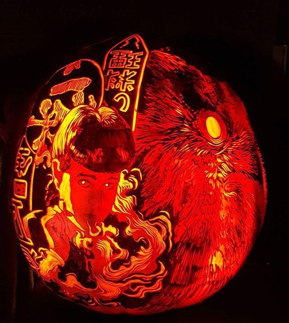 Blade Runner pumpkin