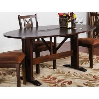 "Check out the Sunny Designs 1194DC Santa Fe 10"" Drop Leaf Table priced at $772.50 at Homeclick.com."