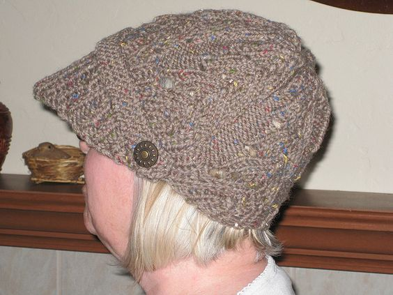 Newsboy Hat by dhgifford, via Flickr