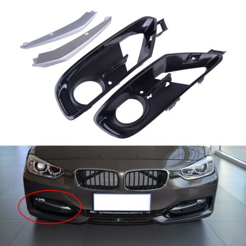 Rechts Offen Nebelscheinwerfergitter passt für BMW F30 F31 328 320 2012-2015 Neu