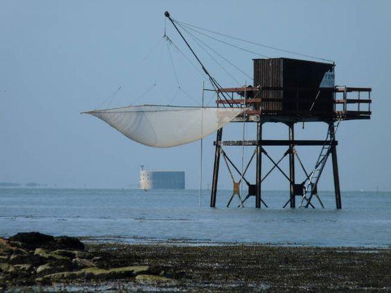 Cabane du pêcheur au carrelet © jxandreani