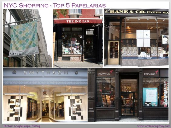 NYC Shopping: Top 5 Papelarias