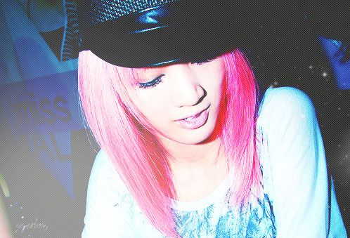 Miss A Jia Medium Straight Pink Layers