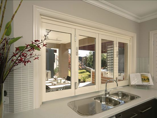 Bi Fold Kitchen Windows Google Search Kitchens