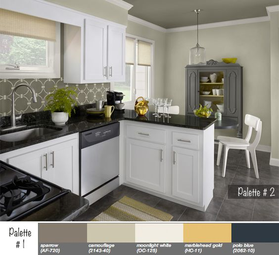 Benjamin Moore Starts A Trend With Stenciled Kitchen: Pinterest €� The World's Catalog Of Ideas