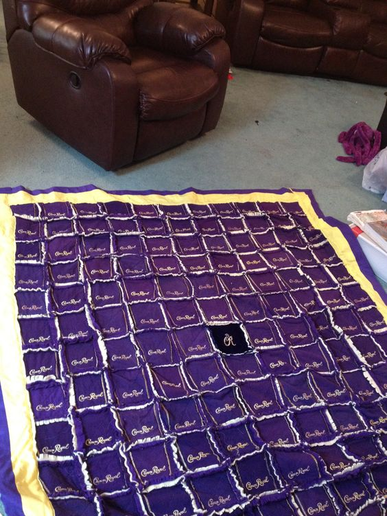 Crown Royal Bag Quilt Things I Have Done Pinterest