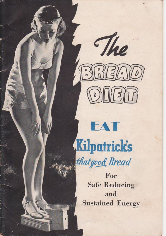 The Bread Diet by Standard Brands Incorporated 1937