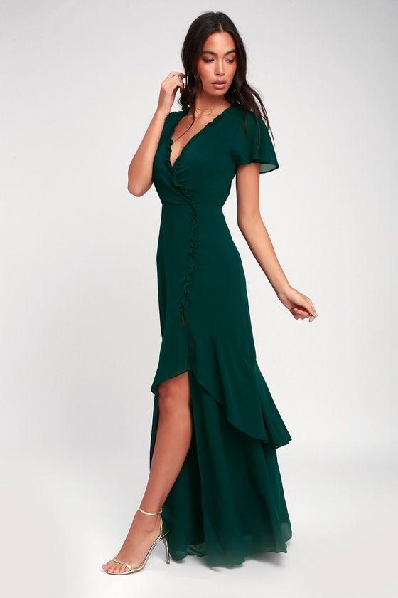 23++ Emerald green dress ideas in 2021