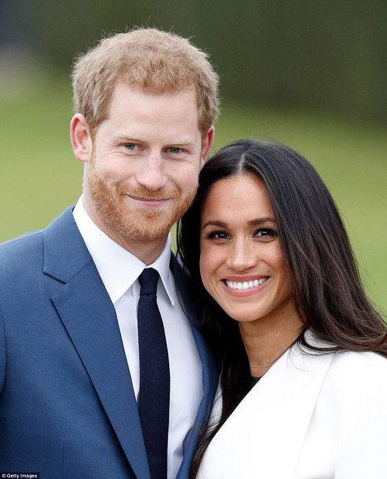 Prince Harry and Meghan Markle announced their engagement on Monday, explaining that they got engaged earlier this month at a photocall at Kensington Palace (pictured)