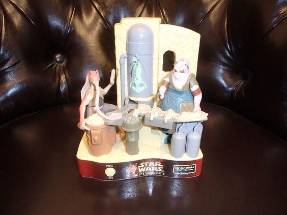 StarWars Jar Jar Binks Pez Hander in Sammeln & Seltenes, Weitere Sammelgebiete, PEZ   eBay