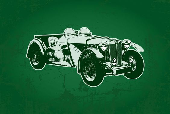 Classic Car Illustrations - Jon Masterson