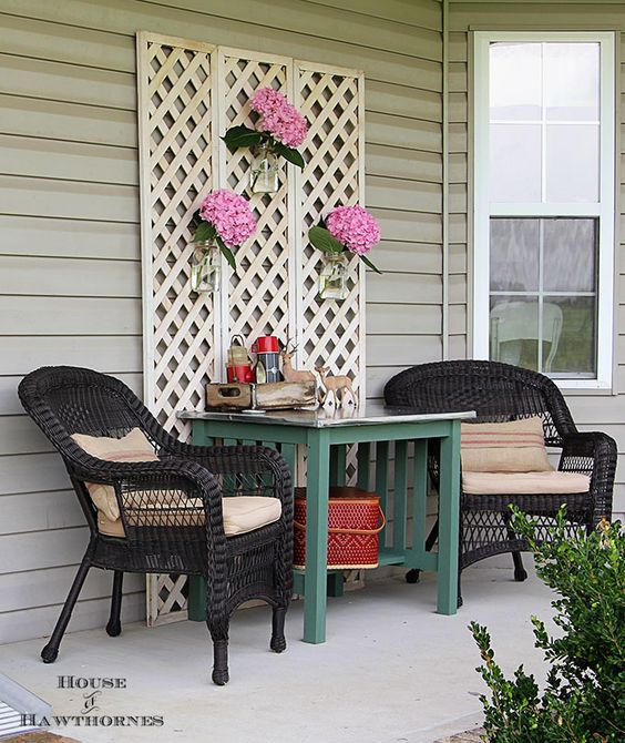 Baby Got Back Porch Ideas Summer Porch Easy Diy And