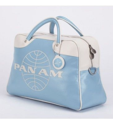 Pan Am travel bag. retro vintage chic <3