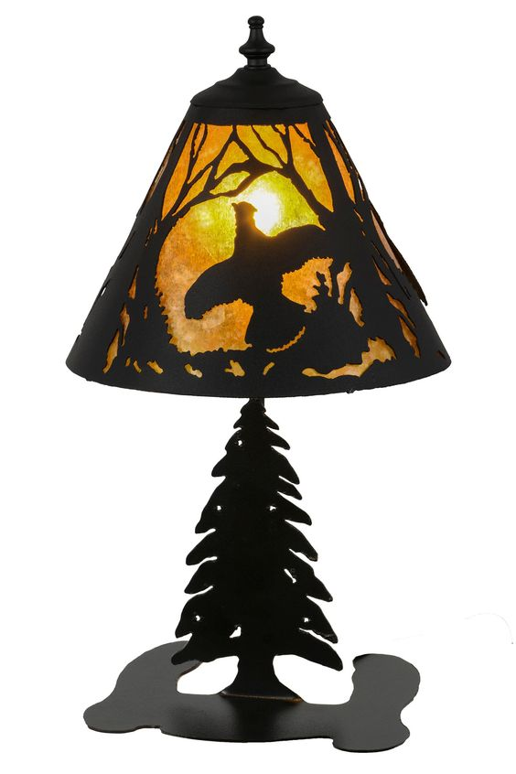 """17""""H Ruffed Grouse Accent Lamp"""
